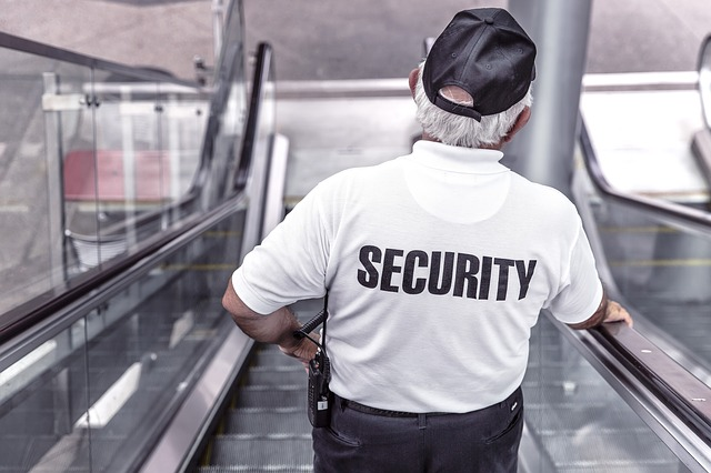 pracovník ochranky