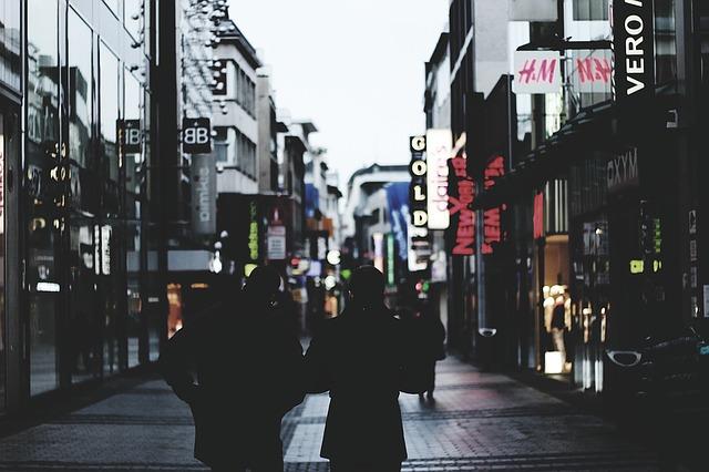 nákupní ulice